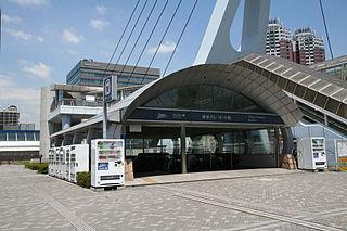 Tokyo Teleport Station Railway station in Tokyo, Japan