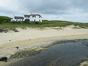 Borve, Harris - Image: Taigh Bhuirgh (geograph 2440627)