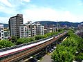 Taipei MRT Danshui Line between Shilin Station and Zhishan Station.jpg