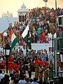 Taking down the flags, Wagah Border.jpg