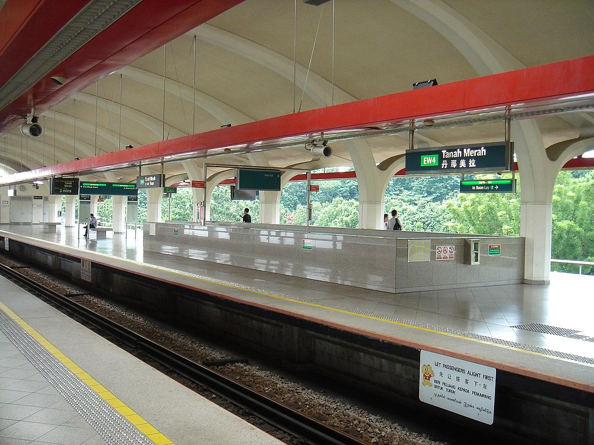 Stasiun MRT Tanah Merah - Wikipedia bahasa Indonesia