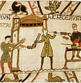 Tapestry by unknown weaver - The Bayeux Tapestry (detail) - WGA24170.jpg