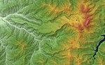 Tateyama Volcano Relief Map, SRTM-1.jpg