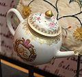 Teapot, China, c. 1760, porcelain - National Museum of American History - DSC00091.jpg