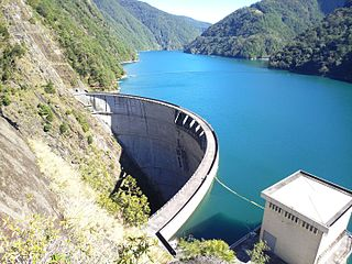 Techi Dam dam in Taiwan