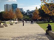 Technion sidewalk by David Shankbone