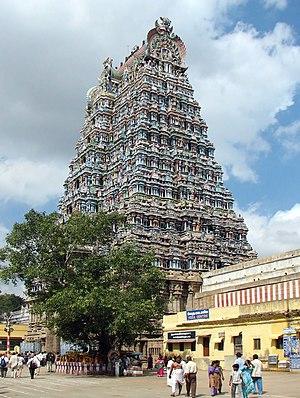 Thirumalai Nayak - Meenakshi Amman Temple complex
