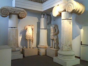 Archaeological Museum of Thessaloniki - Image: Temple of Aphrodite
