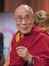 Tenzin Gyatso, the current 14th Dalai Lama (2012)