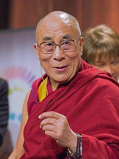 14th Dalai Lama spiritual leader of Tibet