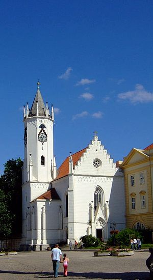 Teplice - Castle Church