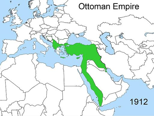 Territorial changes of the Ottoman Empire 1912