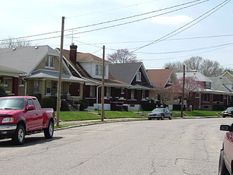 Schnitzelburg, Louisville - Image: Texas Ave LKY