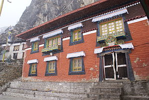 Sherpa people - Thame Gompa is one of numerous Sherpa monasteries