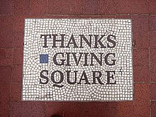 Thank-Giving Square Mosaic