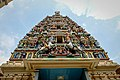 The 23m high gopuram of The Sri Mahamariamman temple (18357428253).jpg