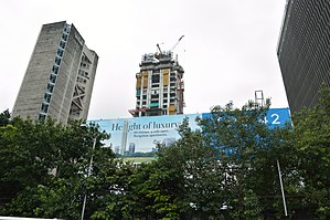 The 42 (Kolkata) - Image: The 42 Residential Building under Construction 42B Chowringhee Road Kolkata 2015 08 16 3457
