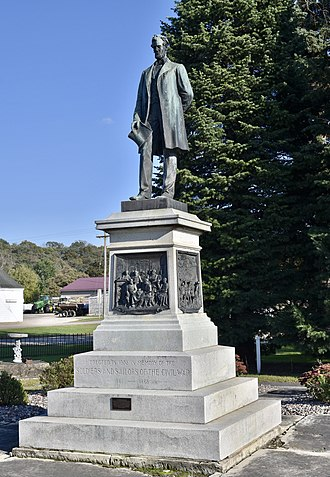 Abraham Lincoln Statue and Park - Image: The Abraham Lincoln Statue