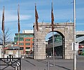 The Arch at George's Dock - geograph.org.uk - 1734478.jpg