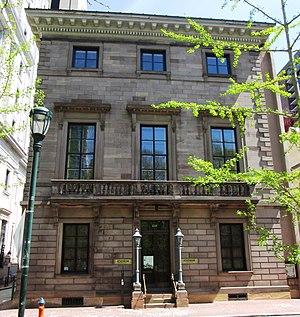 Athenaeum of Philadelphia - The Athenaeum of Philadelphia in 2013