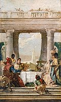 The Banquet of Cleopatra (Tiepolo paintings) - Stockholms universitet.jpg