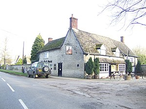 Standlake - The Black Horse public house