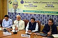 The Chief Election Commissioner, Shri O.P. Rawat speaking at an interactive session 'Electoral Integrity and Role of Money in Election', organised by the Merchants' Chamber of Commerce & Industry, in Kolkata.JPG