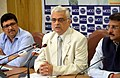 The Chief Election Commissioner, Shri O.P. Rawat speaking at an interactive session 'Electoral Integrity and Role of Money in Election', organised by the Merchants' Chamber of Commerce & Industry, in Kolkata on June 02, 2018.JPG