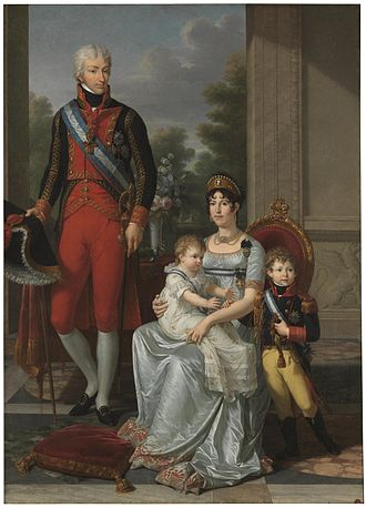 Maria Luisa, Duchess of Lucca - The Family of the King of Etruria