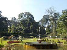 Wonderful The Fountain At The Center Of Sudjana Kassan Garden At Bogor Botanical  Garden.