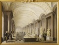 The Gallery of the Muses, in the Royal Museum at the Royal Palace, Stockholm (Pehr Hilleström d.ä.) - Nationalmuseum - 17968.tif
