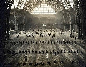 Grand Palais - Grand Palais during World War I, 1916