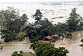 The IAF Helicopter on Relief and Rescue mission in the flood affected Assam Region, on July 01, 2012.jpg