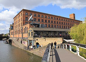 Camden Lock - The Interchange building, where goods were transferred to canal boats, is now the offices of Associated Press Television News.