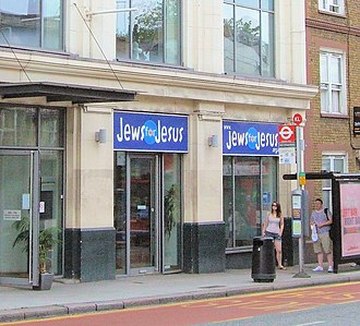 Jews for Jesus - The London office of Jews for Jesus