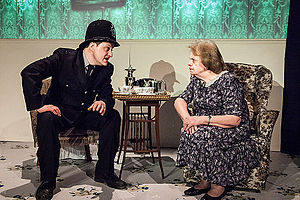 The Ladykillers (play) - Image: The Ladykillers (play), OVO, St Albans, Feb 2014