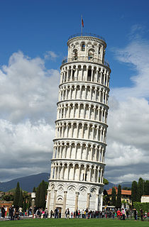 Leaning Tower of Pisa Famous tower in Italy