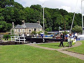 The Locks near the hotel - geograph.org.uk - 1648.jpg