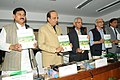 The Member, Expert Group on Modernization of Indian Railways, Shri M.S. Verma submitted its report to the Union Minister for Railways, Shri Dinesh Trivedi, in New Delhi. The Minister of State for Railways.jpg