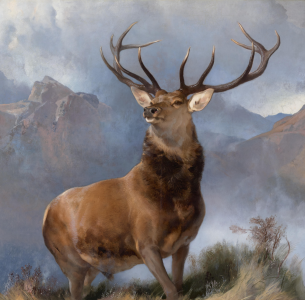 The Monarch of the Glen, Edwin Landseer, 1851.png