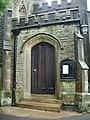 The Parish Church of St Peter's, Stainforth, Doorway - geograph.org.uk - 748536.jpg