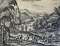 The Phillip Medhurst Picture Torah 138. Isaac's wells. Genesis cap 26 v 15. Borcht.jpg
