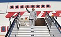 The Prime Minister, Shri Narendra Modi emplanes from London after taking part in the CHOGM 2018, on April 20, 2018 (1).JPG