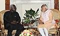 The Prime Minister, Shri Narendra Modi meeting the President of Sierra Leone, Mr. Ernest Bai Koroma, in New Delhi on October 30, 2015 (1).jpg
