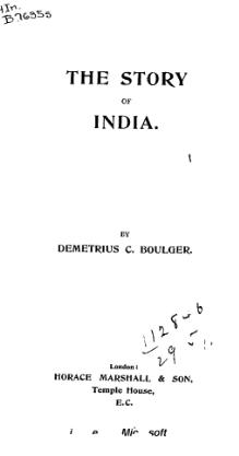The Story of India (1897).djvu