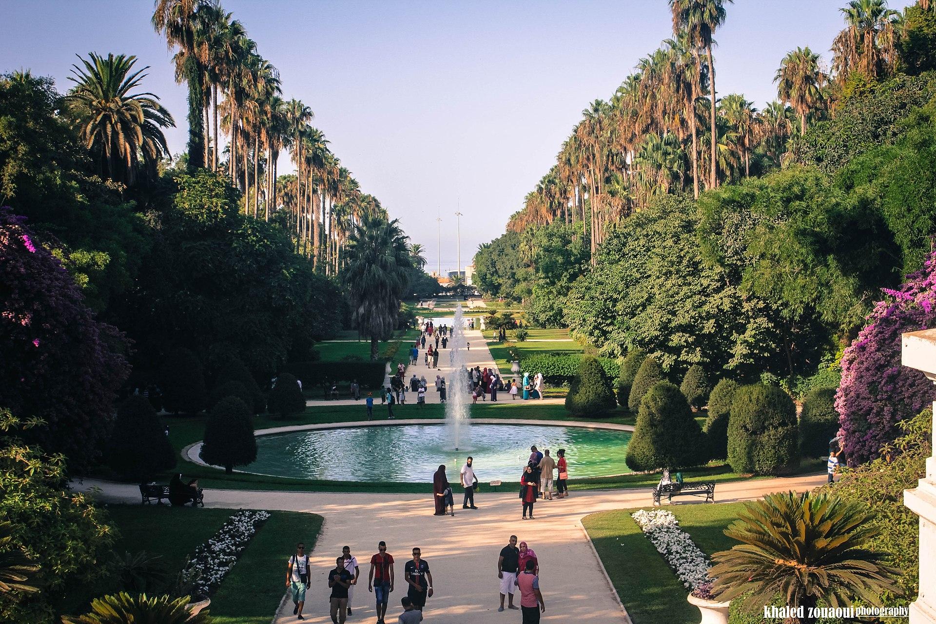 Jardin d'essai du Hamma, Alger, Algérie