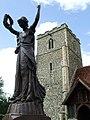 The Wooden War Memorial - geograph.org.uk - 484426.jpg