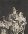 The amorous couple, by Cornelis Dusart.jpg