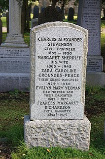 Charles Alexander Stevenson British lighthouse builder