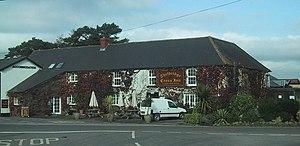 Thelbridge - Image: Thelbridge Cross Inn geograph.org.uk 1558242